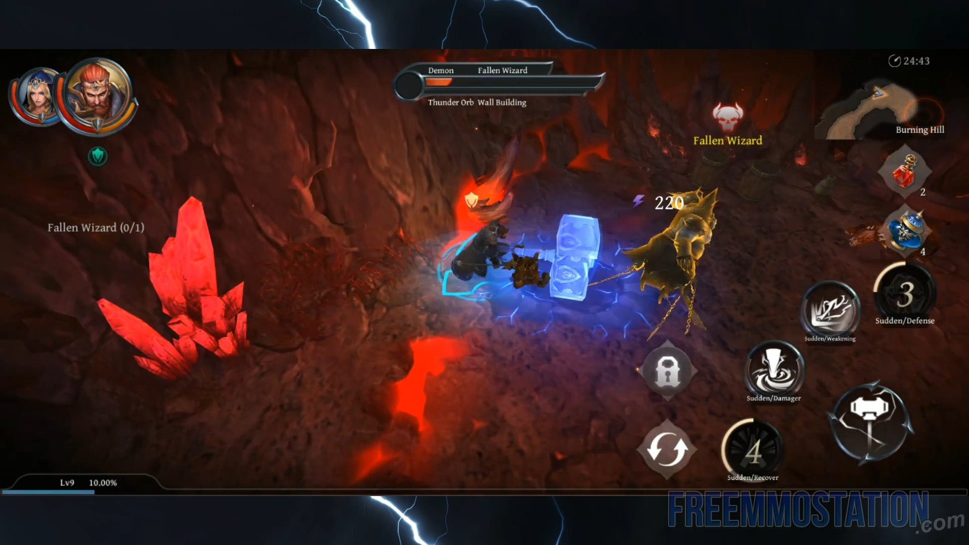 Raziel: Dungeon Arena Gameplay