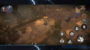 Raziel: Dungeon Arena Gameplay Desert