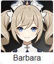 Genshin Impact Tier List Barbara