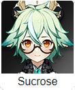 Genshin Impact Tier List Sucrose