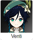 Genshin Impact Tier List Venti
