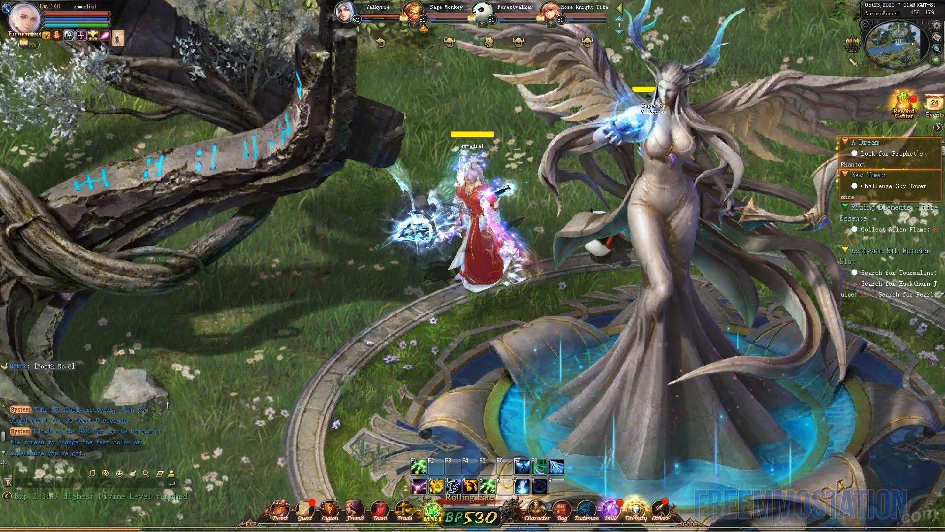 Eudemons Online high level gameplay Steam release