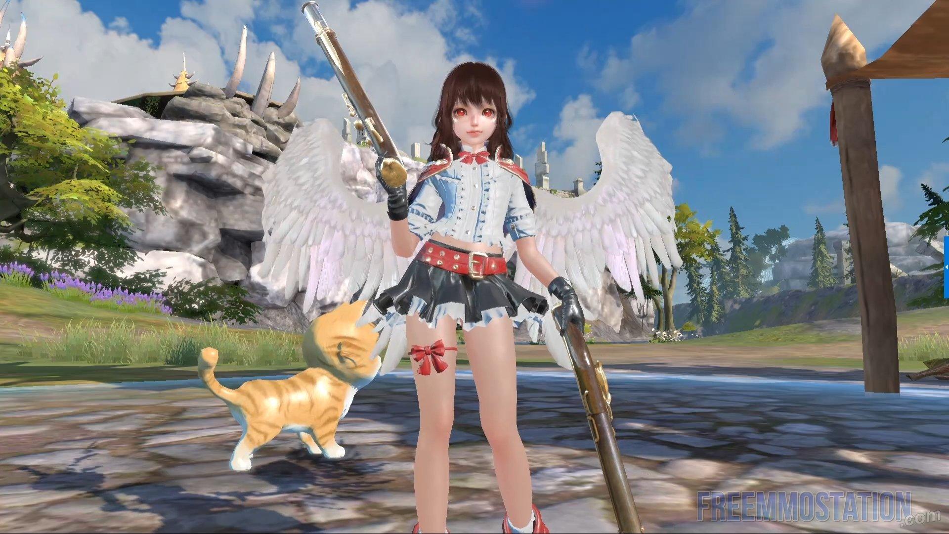 Forsaken World: Gods and Demons Gameplay Gunner Wings