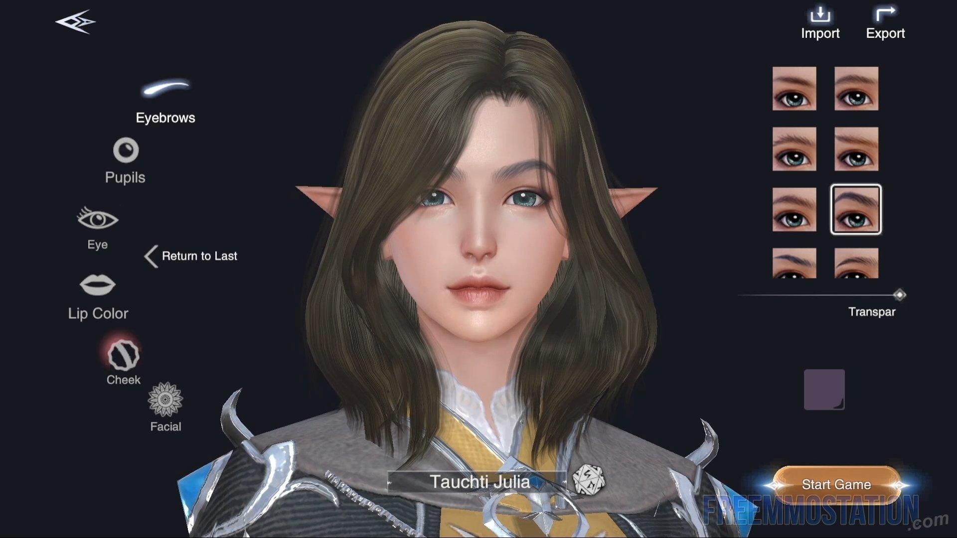 Forsaken World: Gods and Demons Gameplay character creation