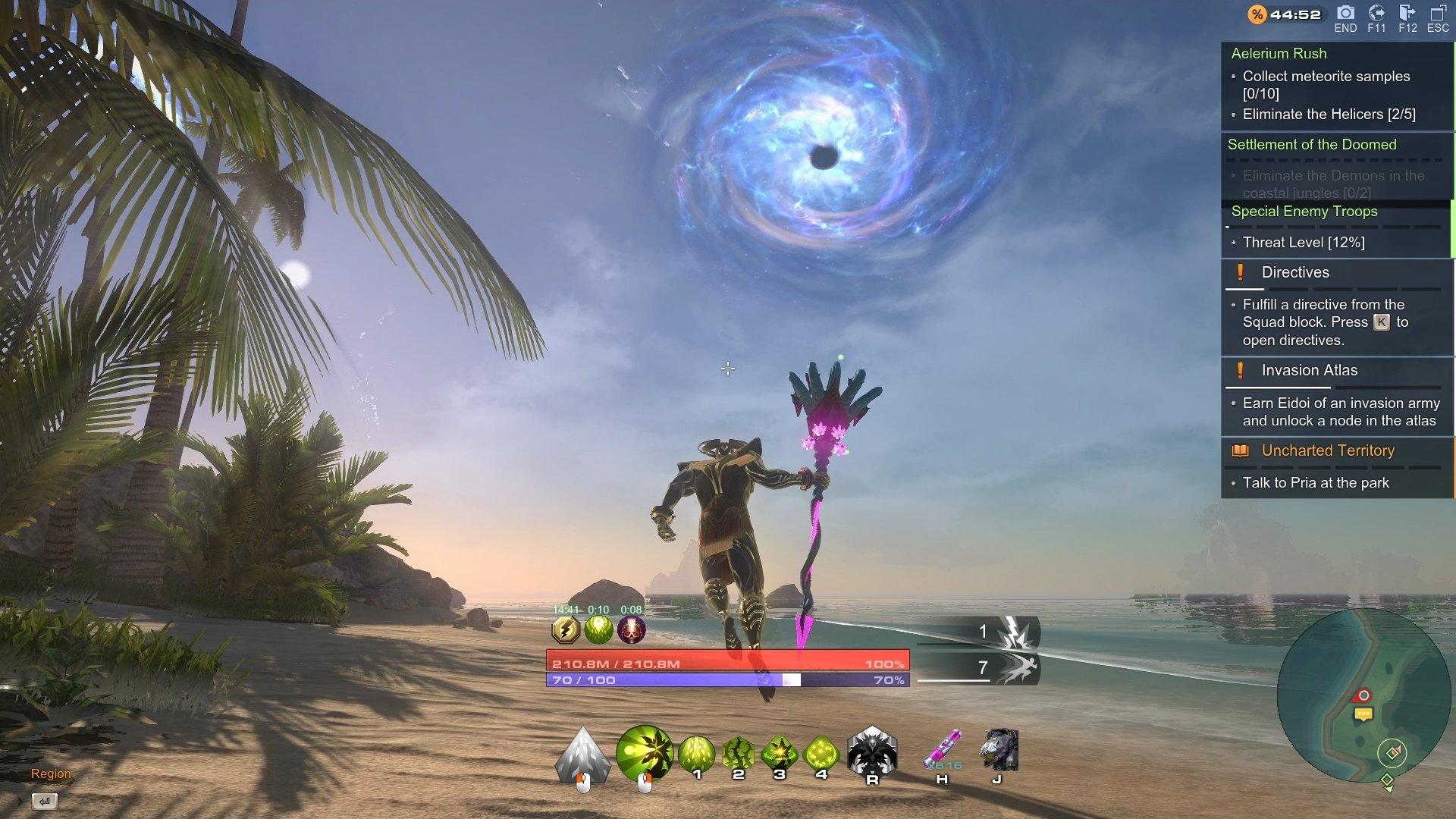 Skyforge Gameplay 2020 Divine Form