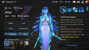 Heroes War: Counterattack Tier List Irina