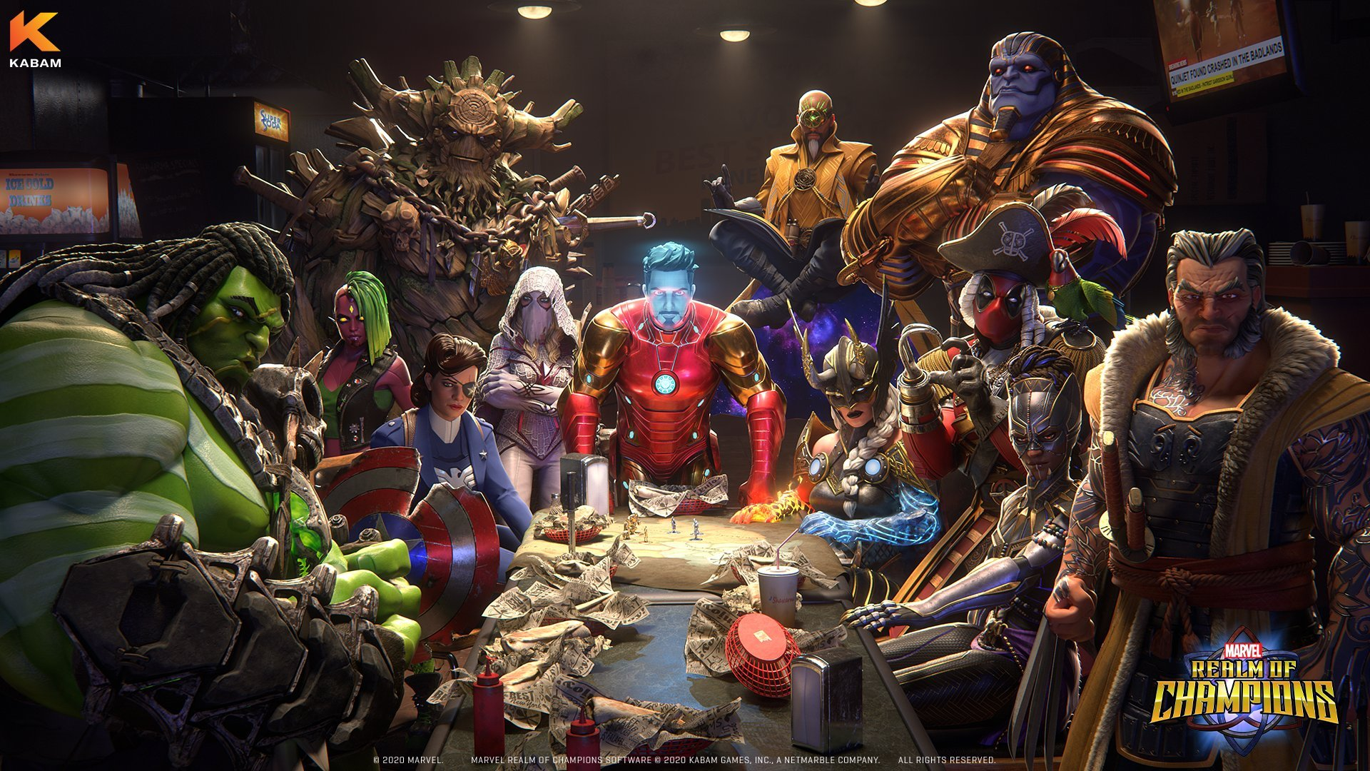 Marvel Realm of Champions Interview Council of Shawarma
