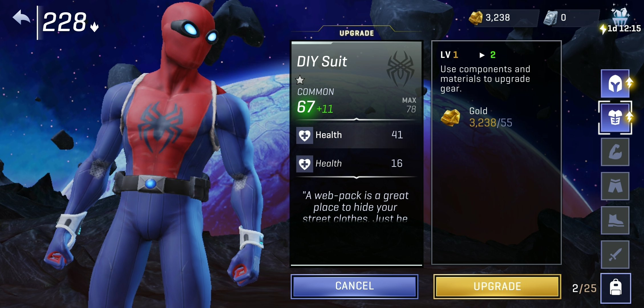Marvel Realm of Champions Preview Web Warrior Spider-Man