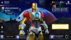 Marvel Realm of Champions Heroes Iron Man