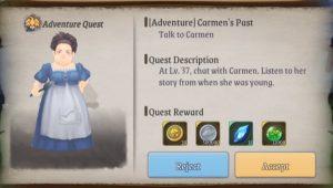 Stella Arcana Adventure Quest Guide Carmen