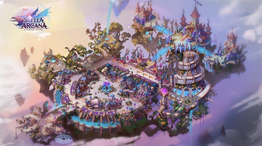 Stella Arcana Treasure Map (L) Guide