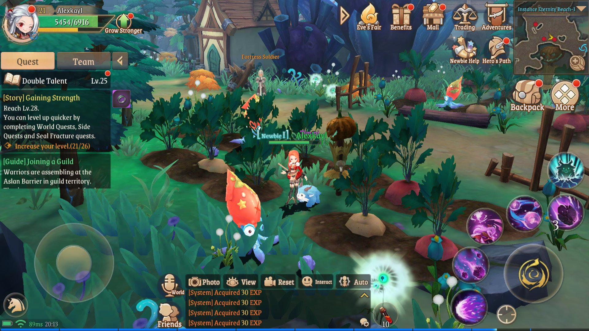 Treasure Map (L) 9: Eternity Beach right side