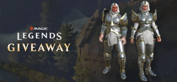 Magic Legends Free Crusader Armor Pack Giveaway