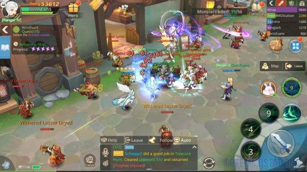 Guardians of Cloudia Gameplay