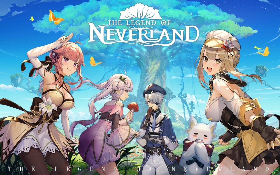 Genshin Impact clone The Legend of Neverland