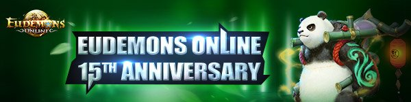 Eudemons Online Free 15th Anniversary pack