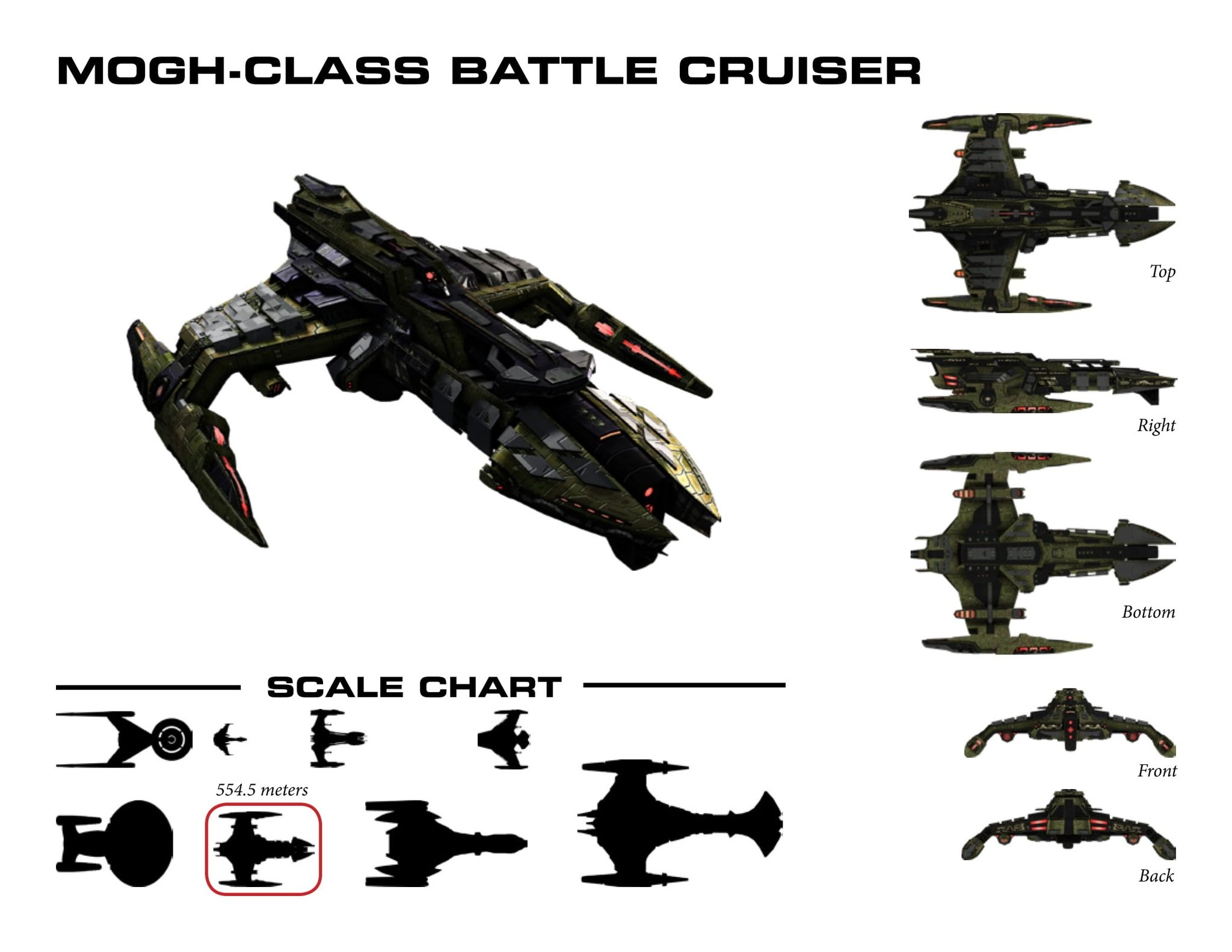 Mogh-Class Class Battlecruiser