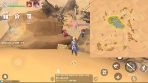 Treasure Chest guide Sakala Desert F1 2