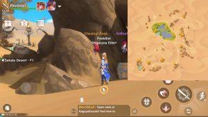 Treasure Chest guide Sakala Desert F1 5