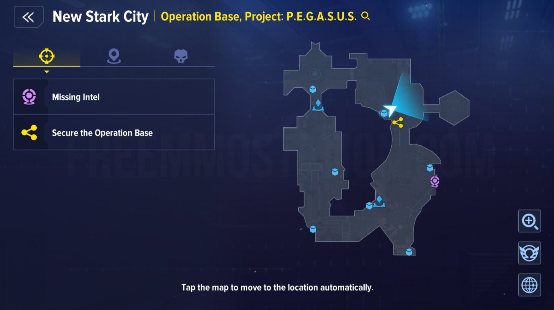 Collectibles New Stark City Operation Base Project PEGASUS 7 Total complete