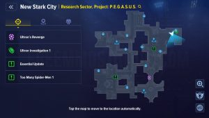 Collectibles New Stark City Research Sector Project PEGASUS 10 total complete