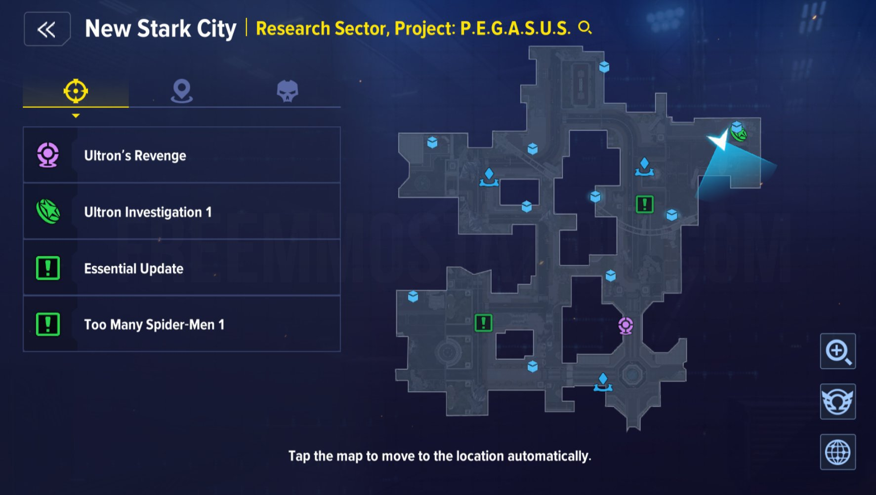 New Stark City Research Sector Project PEGASUS achievements