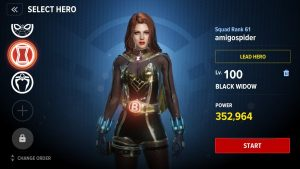 Marvel Future Revolution Guide Black Widow