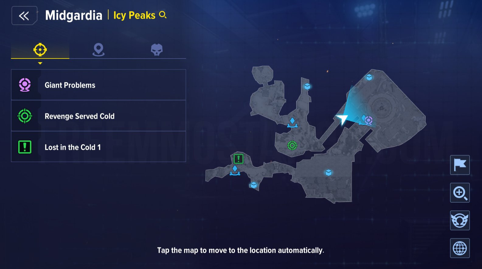 Marvel Future Revolution Midgardia Collectibles Locations Guide