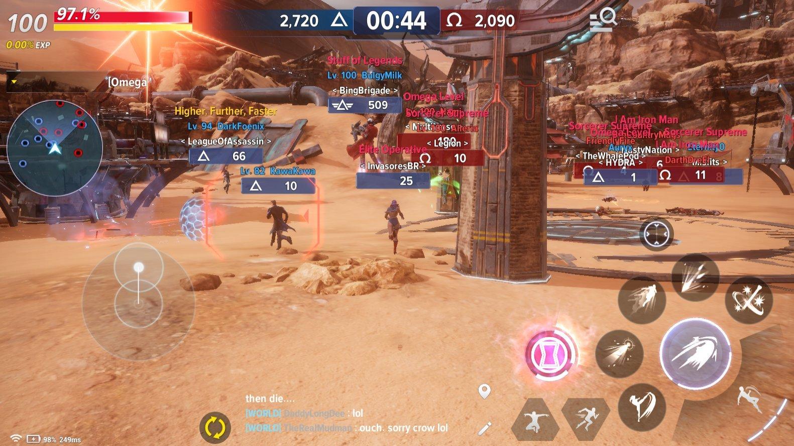 Marvel Future Revolution Omega War Guide