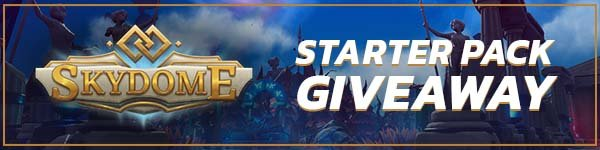 Skydome Free Starter Pack Giveaway