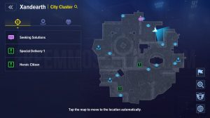 Xandearth City Cluster 11 collectibles