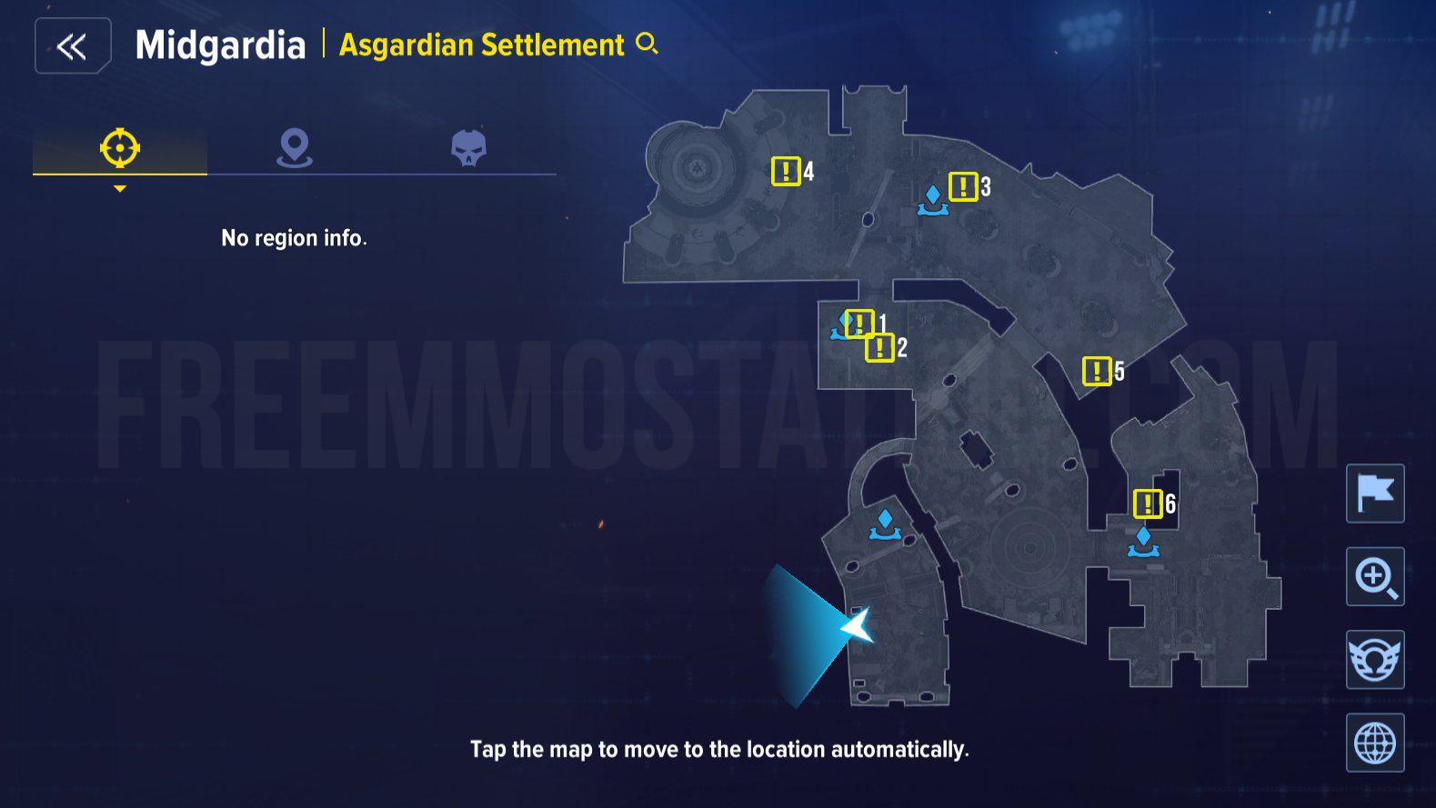 Asgardian Settlement Hidden Quests
