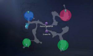 Mir 4 Bull Fiend Woman Snake Cave map