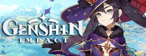 Genshin Impact fantastic anime action RPG