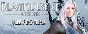 Black Desert Online free 7 day trial