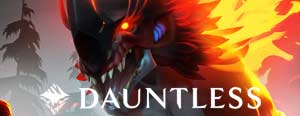 dauntless monster hunter MMORPG